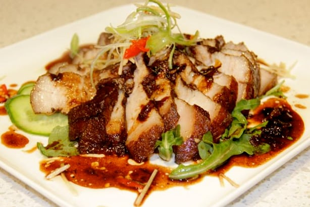 Balsamic Reduction Pork Belly