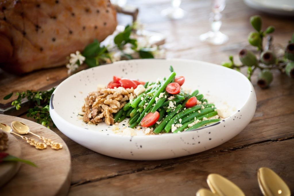 Recipes - Festive Green Bean Salad