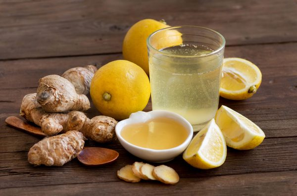 Lemons And Ginger Drink