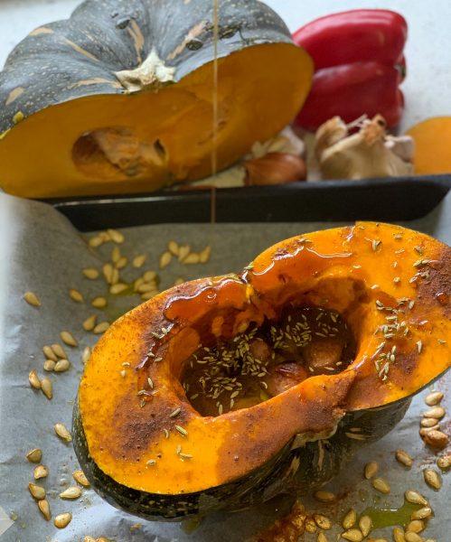 Roasted Whole Pumpkin 2