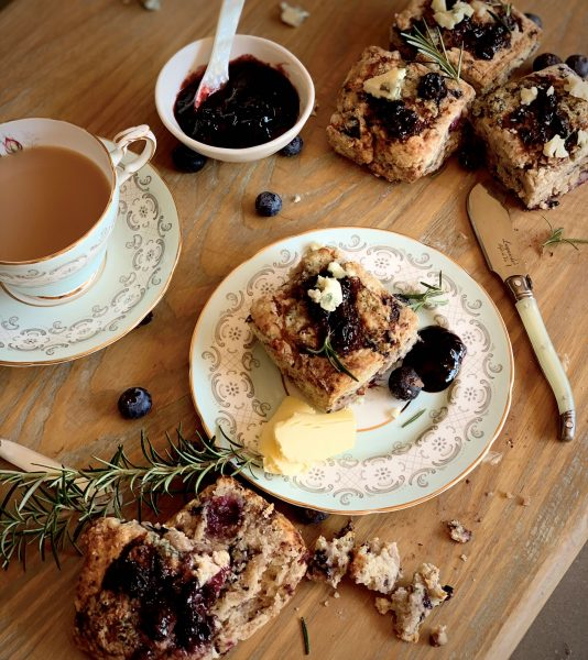 Blue Cheese And Berry Scones01
