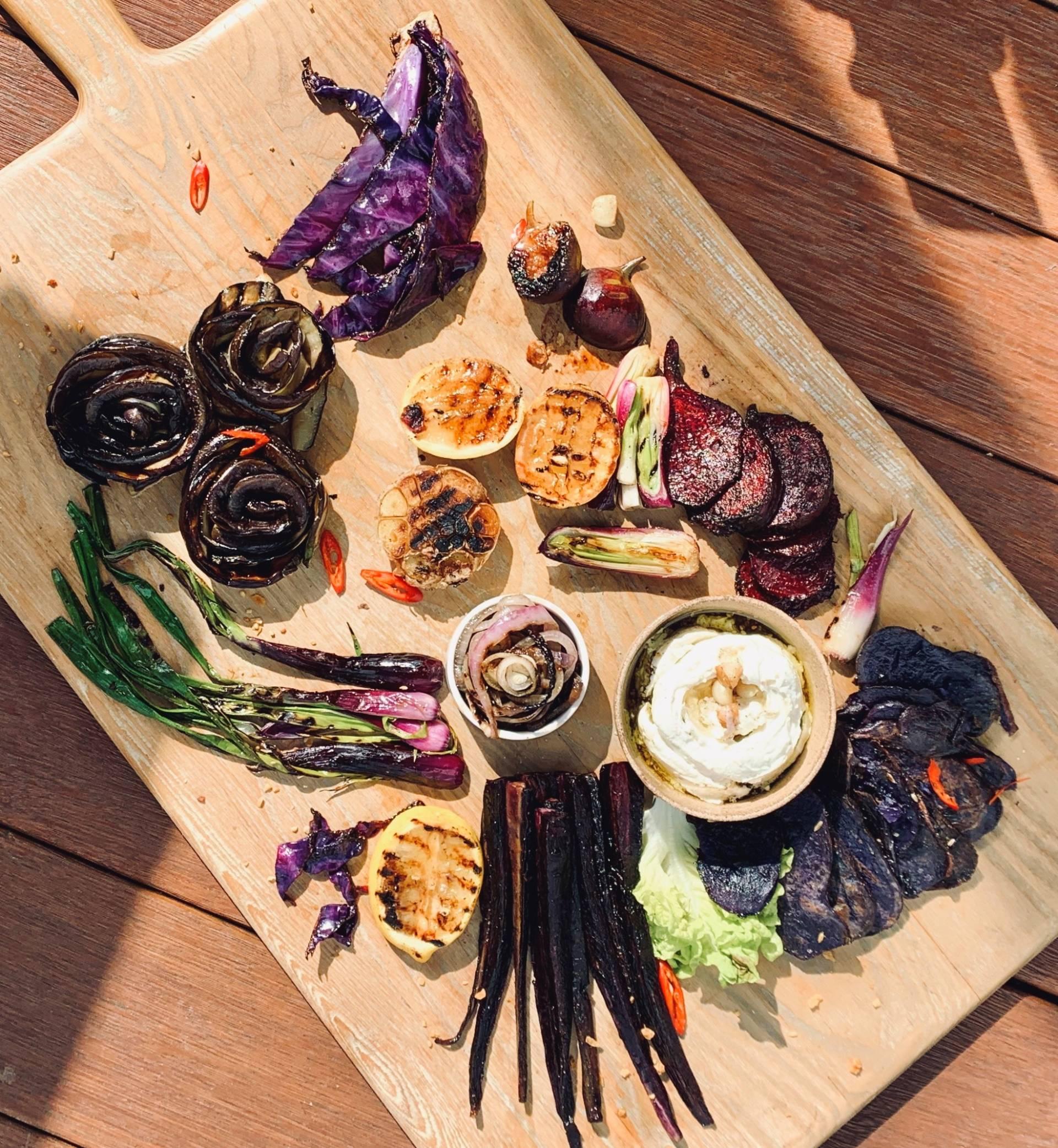 Hawthorne Purple Platter 01