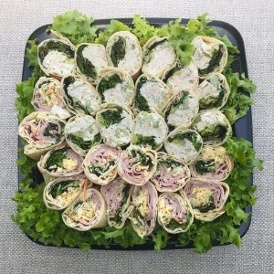 Hawthorn Garage Catering Wrap Platter. Large. 8 Wraps. $95