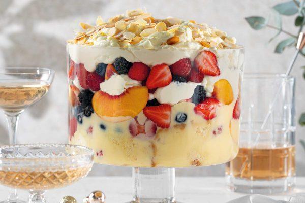 Recipe Grandmas Summer Berry Trifle